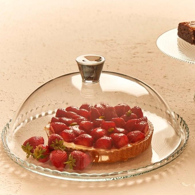 Блюдо для торта с крышкой Pasabahce Patisserie 32см (95198)