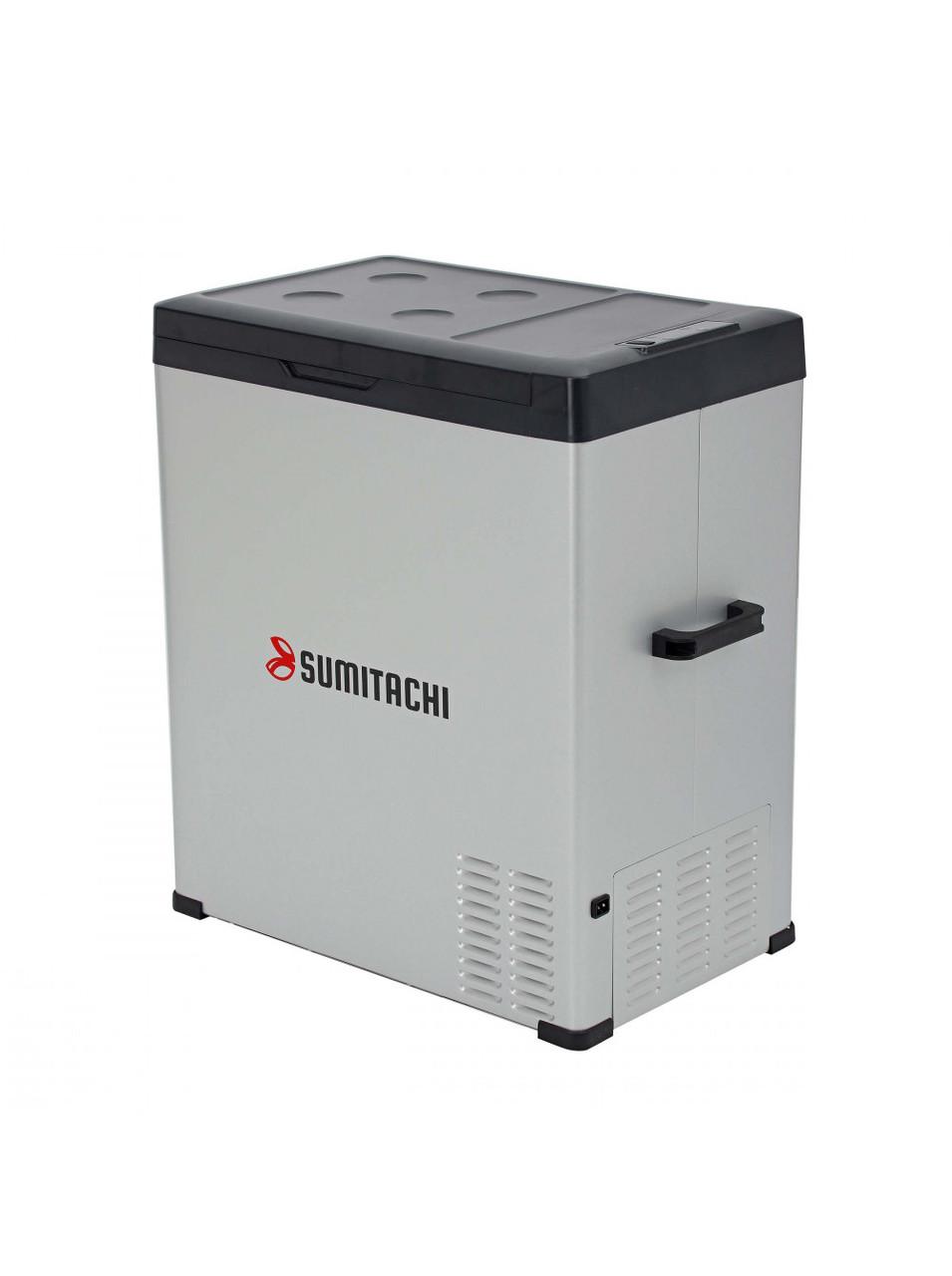 Холодильник компрессорный автомобильный SUMITACHI C75 12В/24В и переменный ток 100-240В