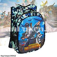 Рюкзак с ортопедической спинкой подростковый камуфляжный Battlegrounds 421