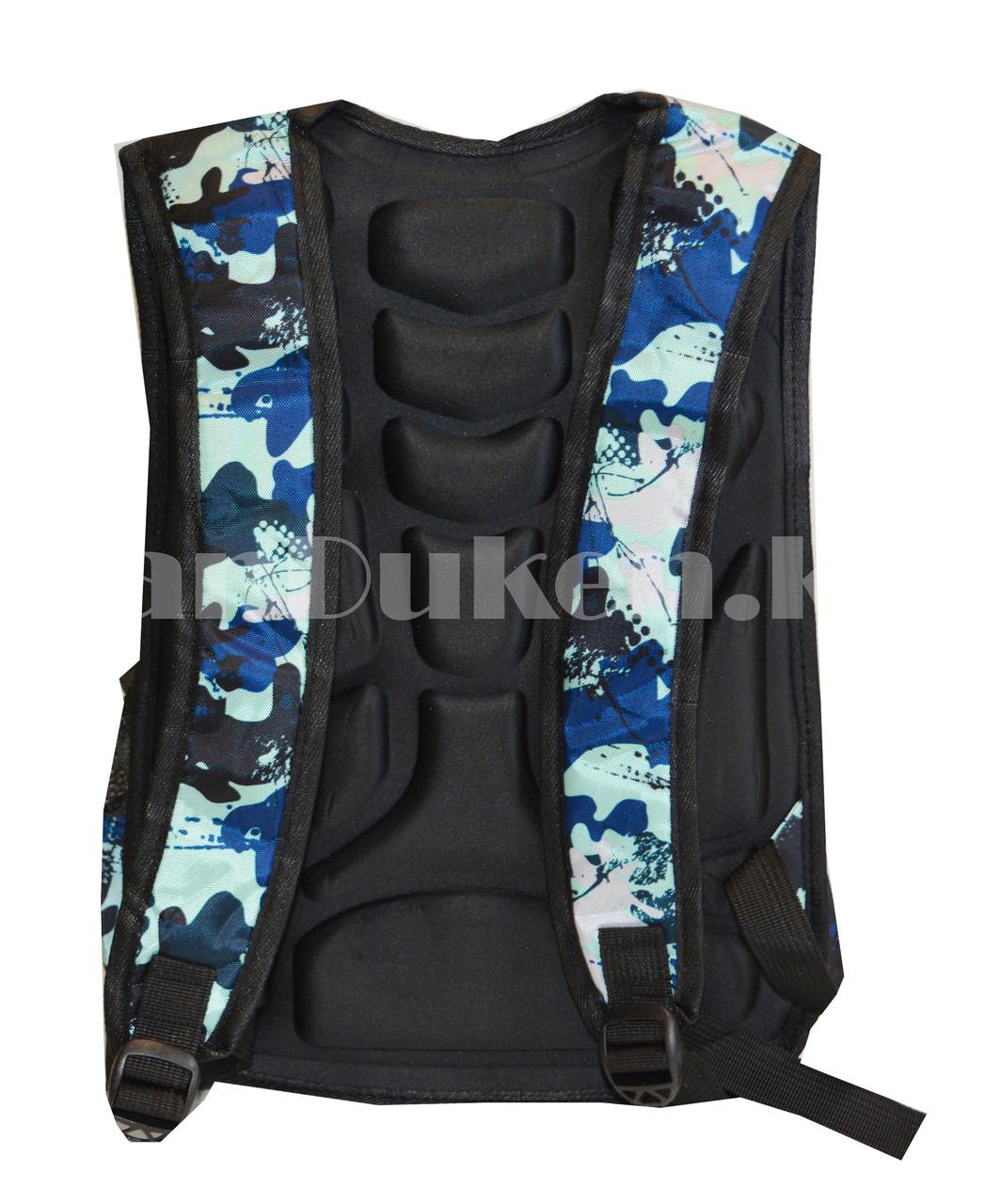 Рюкзак с ортопедической спинкой подростковый камуфляжный Battlegrounds 421 - фото 4