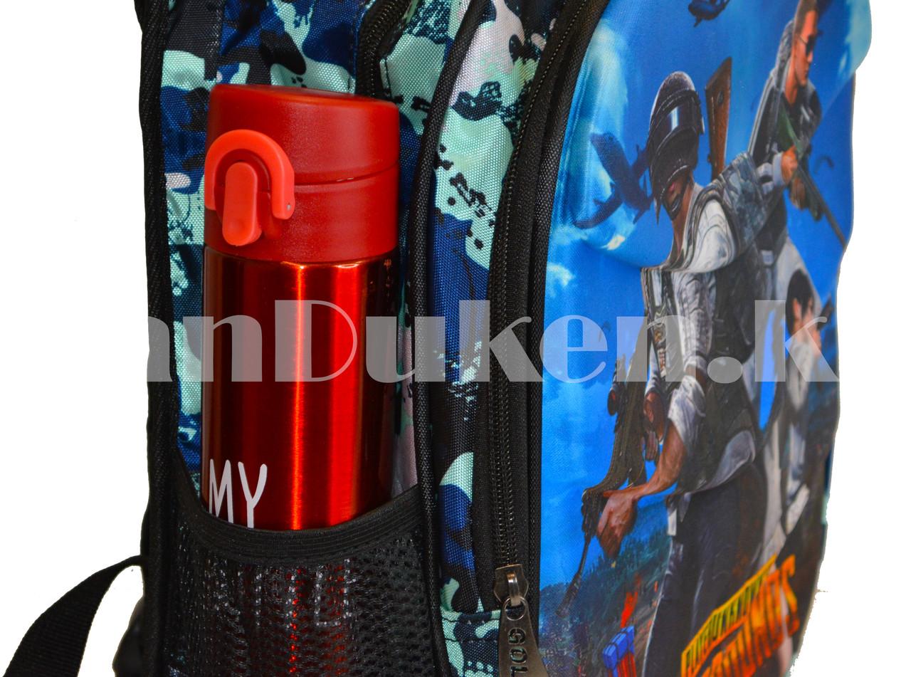 Рюкзак с ортопедической спинкой подростковый камуфляжный Battlegrounds 421 - фото 7
