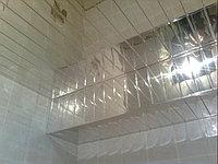 Реечный подвесной потолок A100AS супер хром