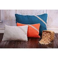 Подушка «Кедровая магия», размер 30х40 см, цвет натуральный, кедровая стружка, лён 100%