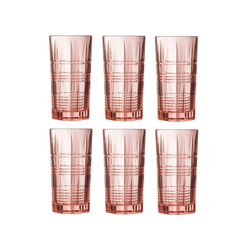 Стакан высокий Luminarc Даллас розовый 380 мл 1шт (P9164)