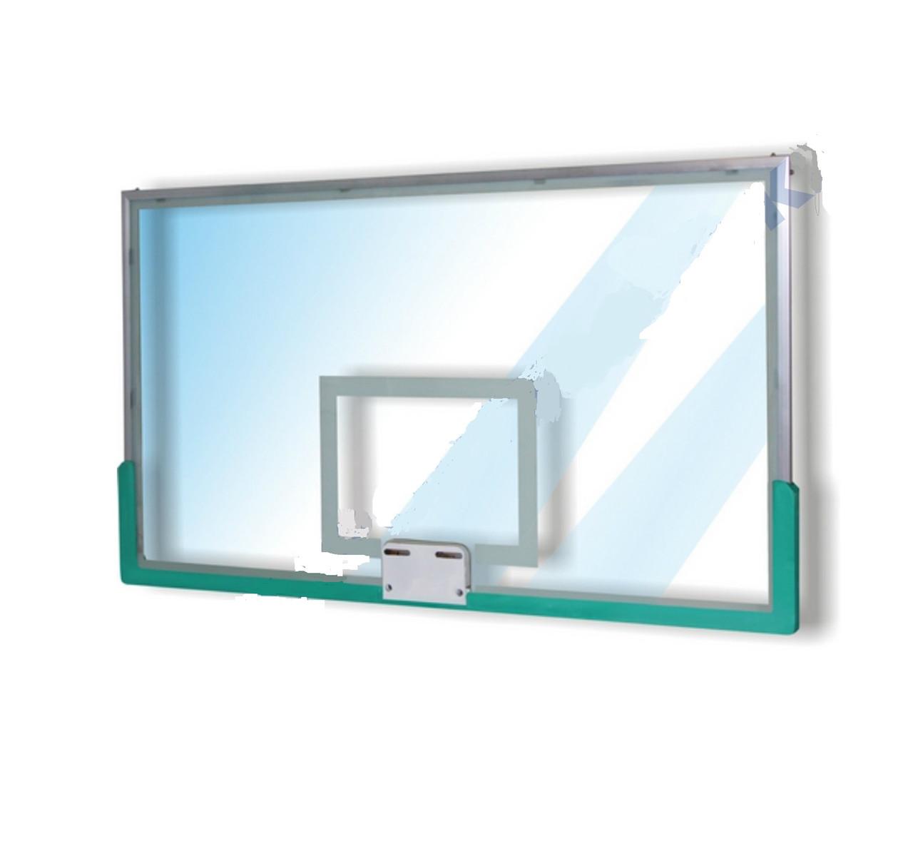Щит баскетбольный стекло 180х105см Китай