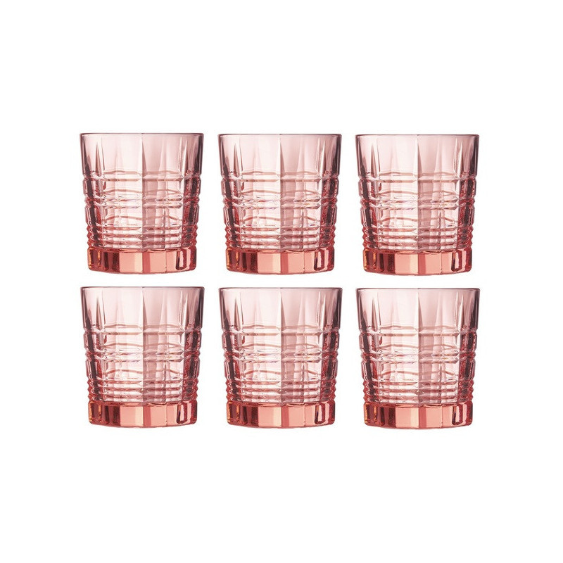 Стакан низкий Luminarc Даллас розовый 300 мл 1шт (P9165)