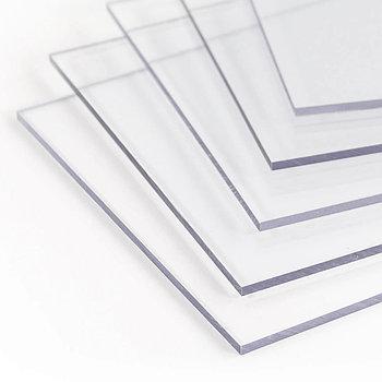 PVC/PET Листы 1220ммX2440ммX1,5мм прозрачный