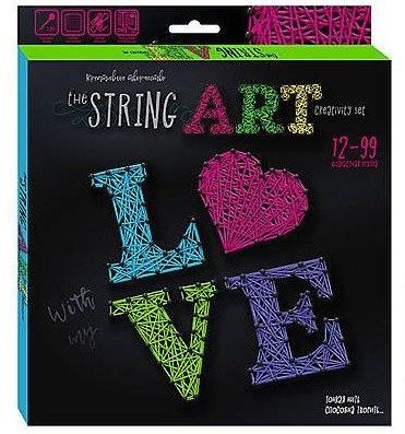 """Набор креативного творчества """"The STRING ART"""" LOVE (12 шт.)"""