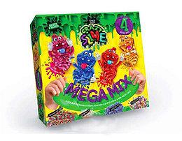 """Безопасный образовательный набор для проведения опытов """"Crazy Slime 4в1""""Фиолетовый"""