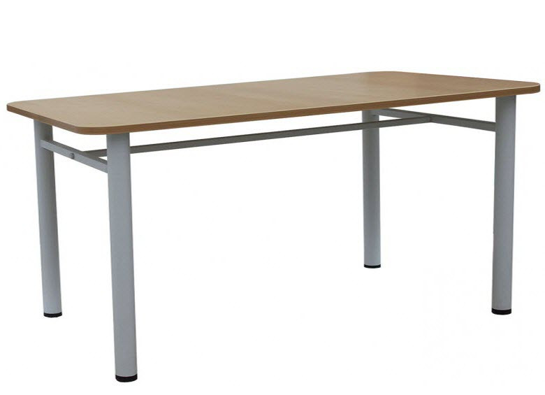 Обеденный стол для школьной столовой (1500х600х750 мм) арт. ОС-2/2