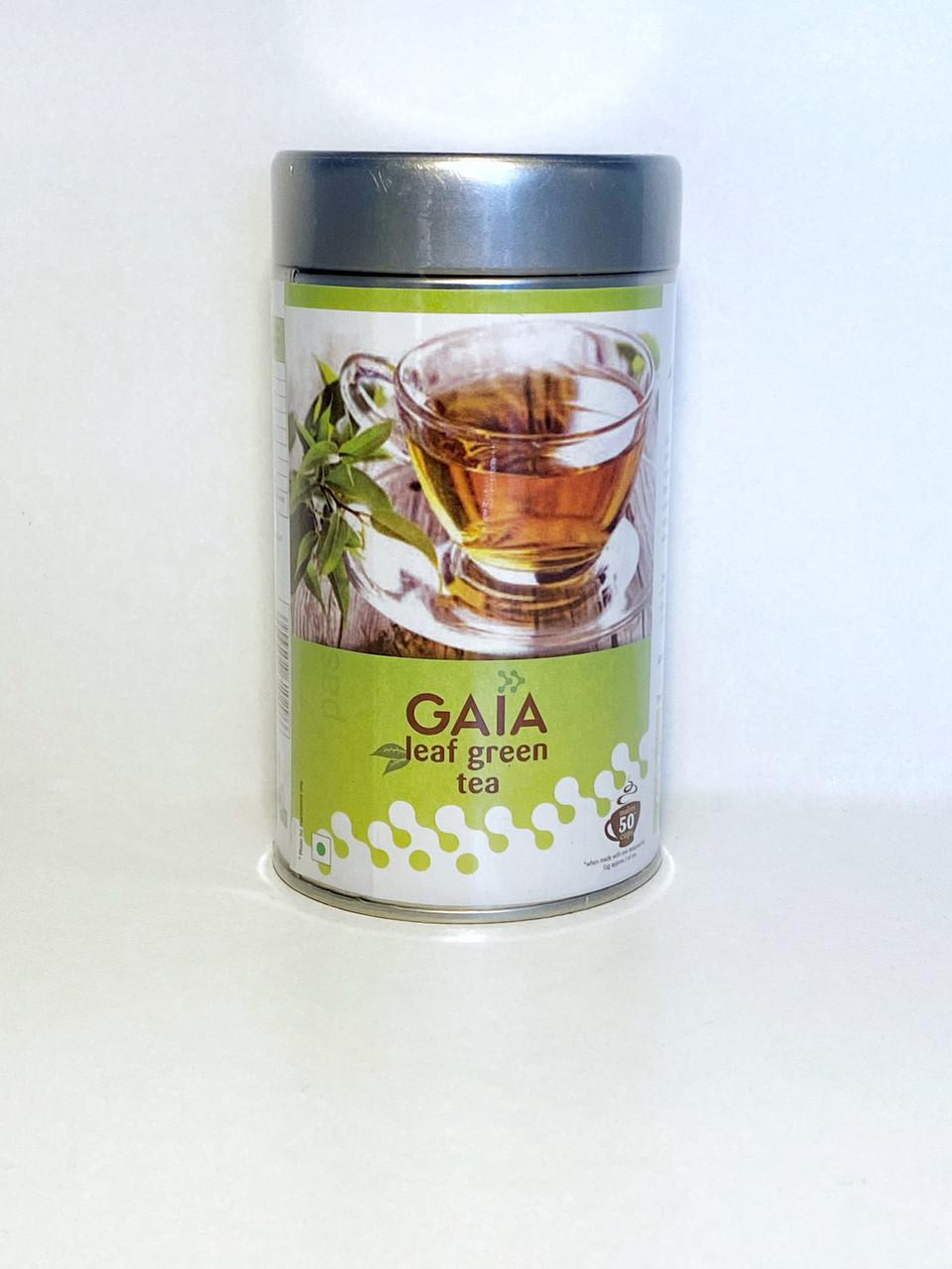 Зеленый чай Gaia Leaf (листовой), 100гр