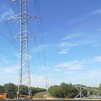 Строительство и монтаж ВЛ 10-0,4 кВ, КТП