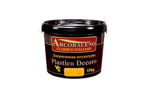 Декоративная штукатурка Аркобалено, Platico Decoro 7кг,