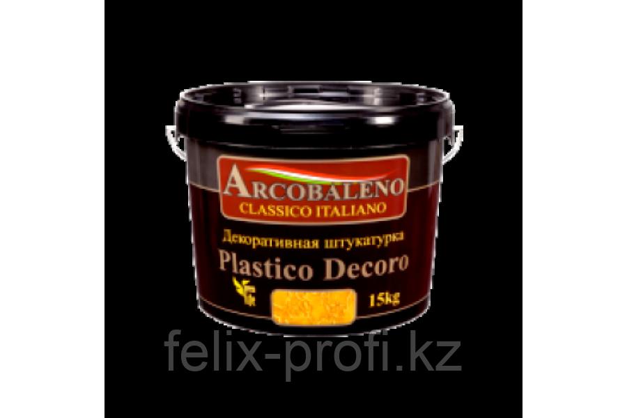 Декоративная штукатурка Аркобалено, Platico Decoro 25 кг,