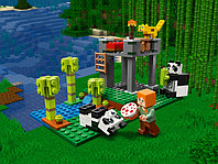 LEGO Minecraft 21158 Питомник панд, конструктор ЛЕГО