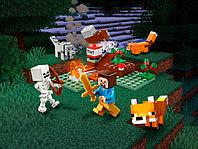 LEGO Minecraft 21162 Приключения в тайге, конструктор ЛЕГО