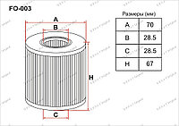 Фильтры Масляные FO-003 Gerat