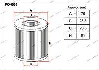 Фильтры Масляные FO-004 Gerat