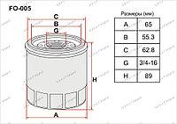 Фильтры Масляные FO-005 Gerat