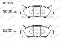 Тормозные колодки BP-F017 Normal Gerat