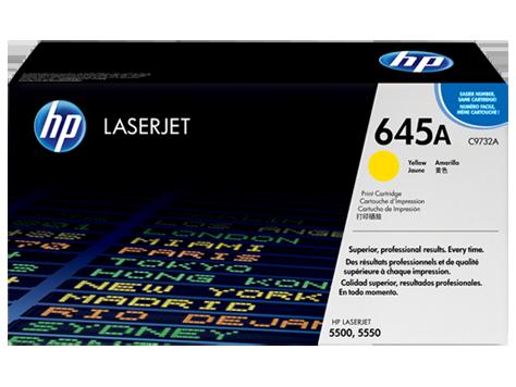 HP C9732A Картридж лазерный HP 645A желтый, ресурс 12000 стр.