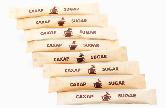 Сахар порционный белый в стиках 5 грамм