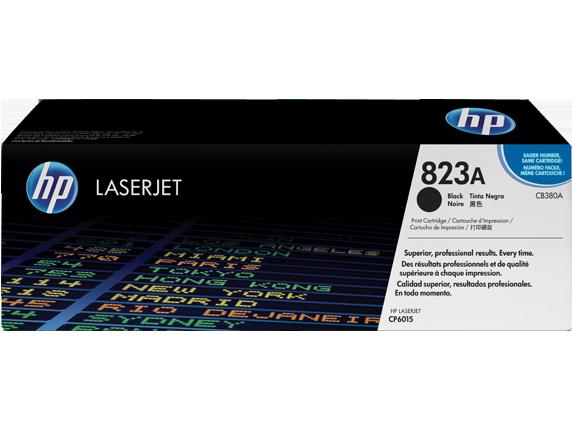 HP CB380A Картридж лазерный HP 823A черный, ресурс 16500 стр