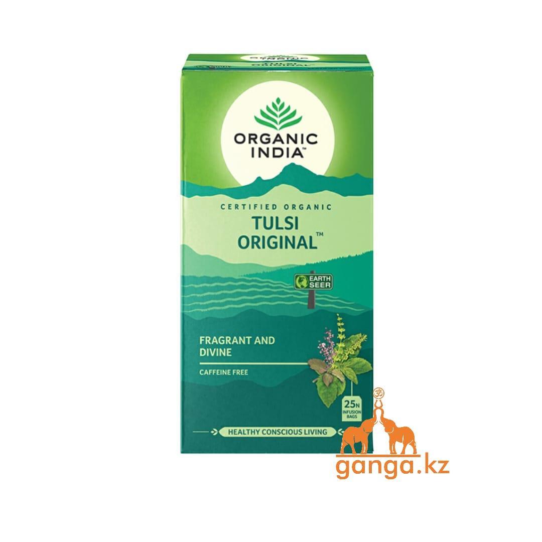 Органический чай Тулси (Tulsi Tea ORGANIC INDIA), 25 пакетиков