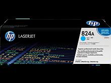 HP CB381A Картридж лазерный HP 824A голубой, ресурс 21000 стр