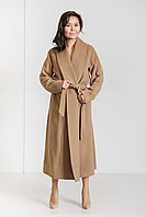 Светло-коричневое пальто Атланта