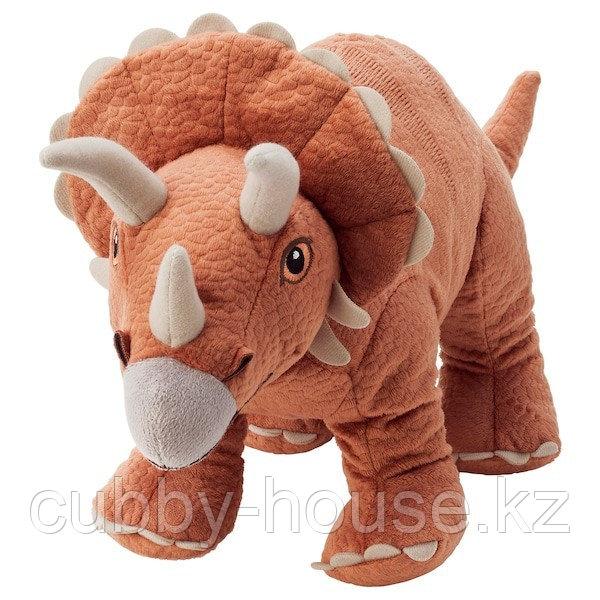 ЙЭТТЕЛИК Мягкая игрушка, динозавр, Трицератопс46 см