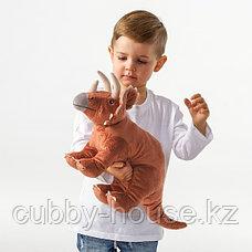 ЙЭТТЕЛИК Мягкая игрушка, динозавр, Трицератопс46 см, фото 2