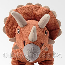 ЙЭТТЕЛИК Мягкая игрушка, динозавр, Трицератопс46 см, фото 3