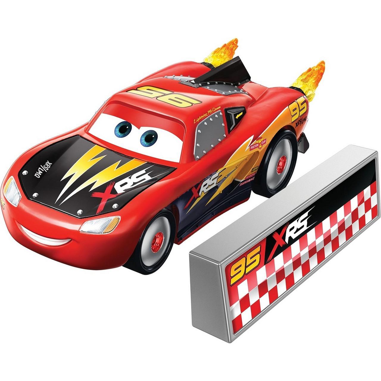 """Cars / Тачки """"Рокетные гонки"""" Молния МакКуин с огненным ускорителем"""