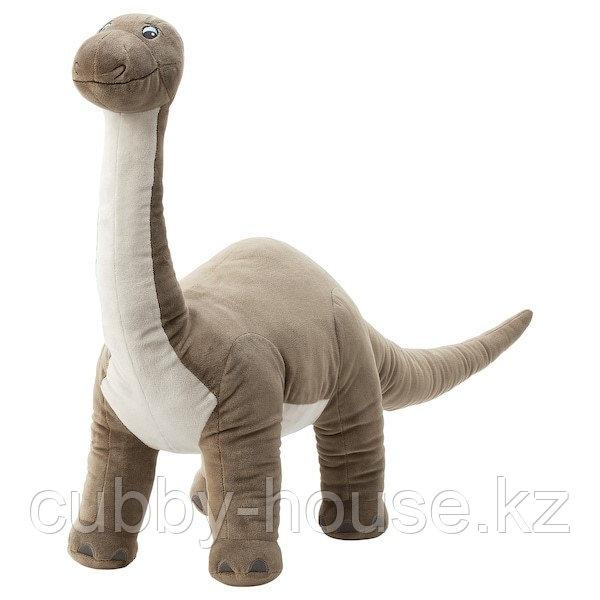ЙЭТТЕЛИК Мягкая игрушка, динозавр, Бронтозавр90 см