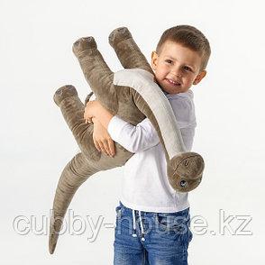 ЙЭТТЕЛИК Мягкая игрушка, динозавр, Бронтозавр90 см, фото 2