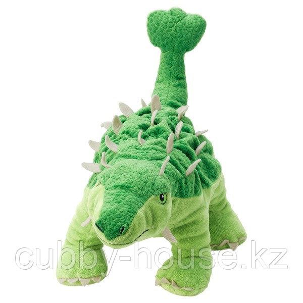 ЙЭТТЕЛИК Мягкая игрушка, яйцо/динозавр, Анкилозавр, 37 см