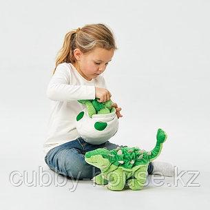 ЙЭТТЕЛИК Мягкая игрушка, яйцо/динозавр, Анкилозавр, 37 см, фото 2