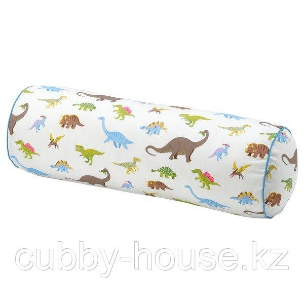 ЙЭТТЕЛИК Подушка, динозавр, разноцветный80 см
