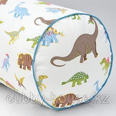 ЙЭТТЕЛИК Подушка, динозавр, разноцветный80 см, фото 2