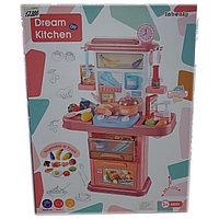 Игрушечный кухонный гарнитур для девочек. С звуковым сопровождением и подсветкой., фото 1
