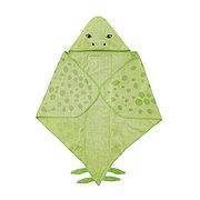 ЙЭТТЕЛИК Полотенце с капюшоном, Стегозавр, зеленый140x97 см