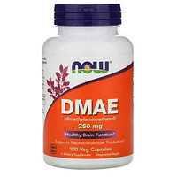 Now Foods, DMAE, 250 мг, 100 капсул