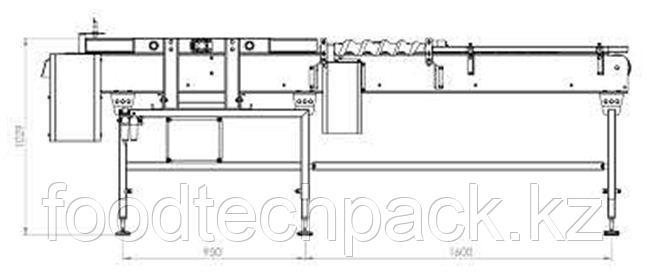 Транспортер для укладки консервных банок, 45.2120.1211