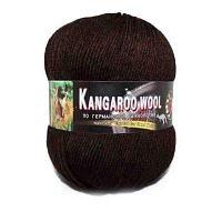 Пряжа Color City Пряжа Color City Kangaroo wool Цвет.2531 Темно коричневый