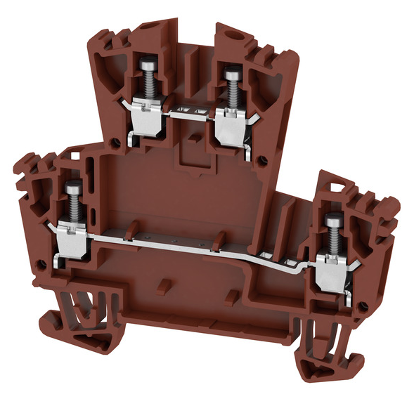 WDK 2.5 ZQV BR Соединитель электрический, Винт