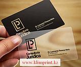 Визитки пластиковые в Алматы для компаний заказать, визитки пластиковые, фото 4