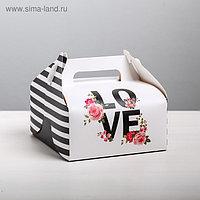 Сундучок для сладкого Love, 16 × 15 × 18 см