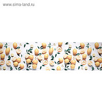 """Кухонный фартук ПВХ, фотопечать """"Лимоны"""" 600х3000"""