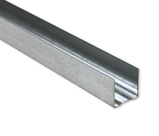 Профиль направляющий 28х27х3000 толщина 0,4 мм